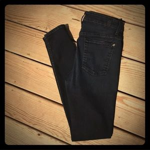 7 for All Mankind high Rise Skinny Jeans 29 Blue